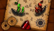 Лого Мини игры Пираты. Золотая Армада