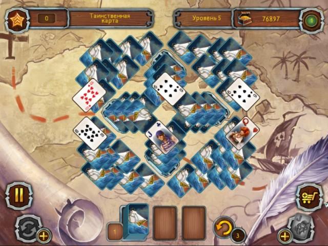 Пиратский Пасьянс 2 картинка из игры 4
