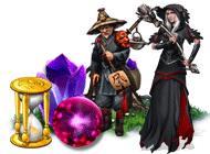 Лого Мини игры Времена года. Проклятие ведьмы-вороны