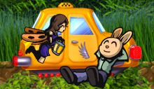 Лого Мини игры Небесное такси 6. Бесконечность