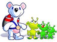 Лого Мини игры Снежок. Приключения в космосе