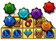 Лого Мини игры Анна и Уилл. Сокровища пирамид