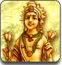 Лого Мини игры Долина Богов