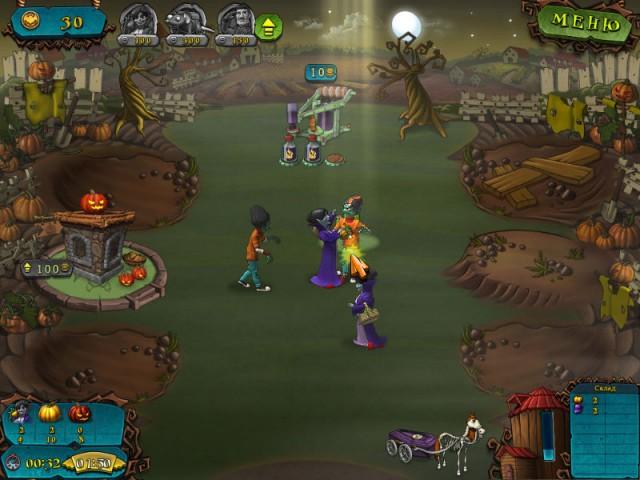 Вампиры против зомби картинка из игры 4