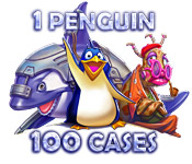 Free 1 Penguin 100 Cases Game