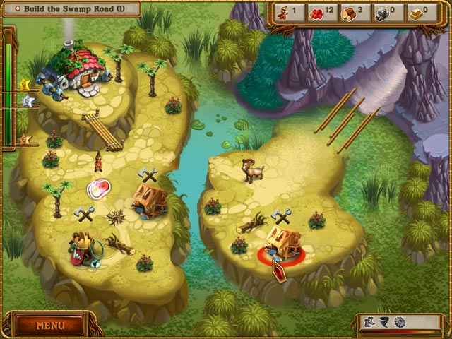 A Gnome's Home: The Great Crystal Crusade Game screenshot 1