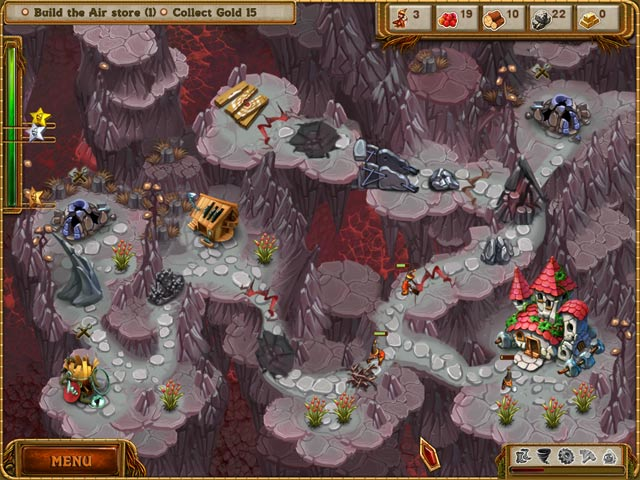 A Gnome's Home: The Great Crystal Crusade Game screenshot 3