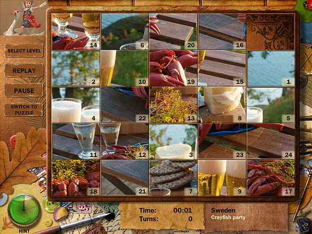 Adore Puzzle 2: Flavors of Europe Game screenshot 2
