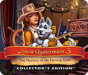 Free Alicia Quatermain 3: The Mystery of the Flaming Gold Collector's Edition Game