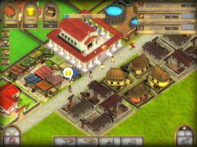 Ancient Rome 2 Game screenshot 2