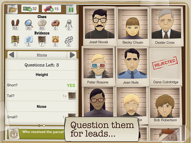 Another Case Solved Game screenshot 2