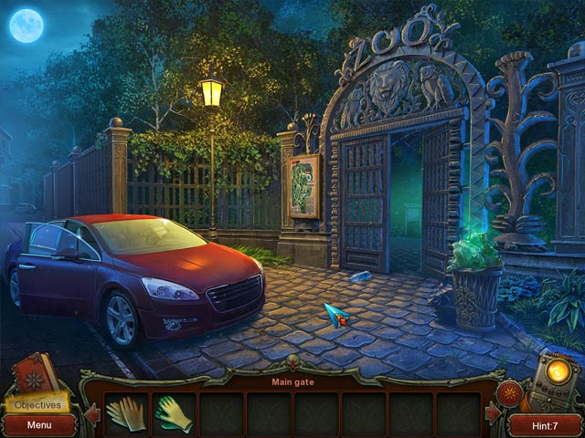 Ashley Clark: The Secrets of the Ancient Temple Game screenshot 1