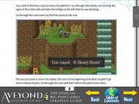 Aveyond 4: Shadow of the Mist Strategy Guide Games Download screenshot 3