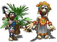 Free Aztec Tribe: New Land Game