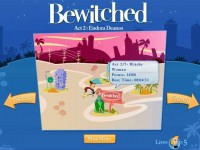Bewitched Game screenshot 1