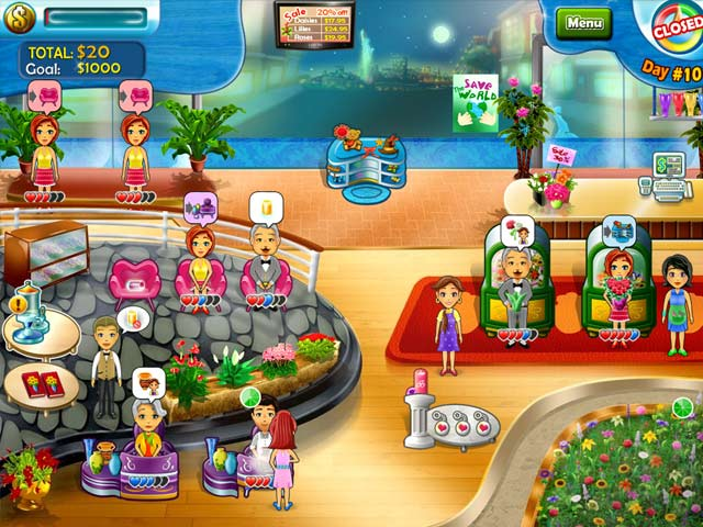 Bloom! Share flowers with the World Game screenshot 3
