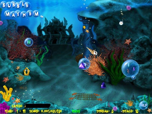Bubble Mayhem Game screenshot 1