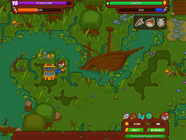 Bush Whacker 2 Game screenshot 1