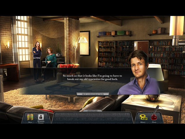 Castle: Never Judge a Book by Its Cover Game screenshot 1