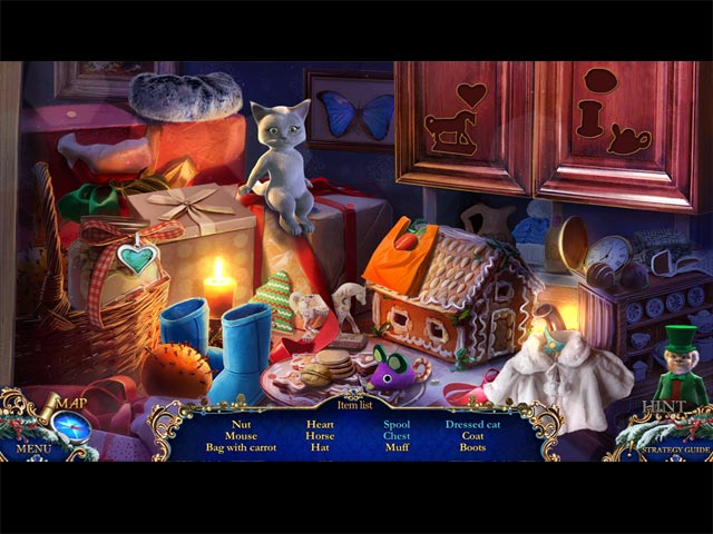 Christmas Stories: Hans Christian Andersen's Tin Soldier Collector's Edition Game screenshot 1