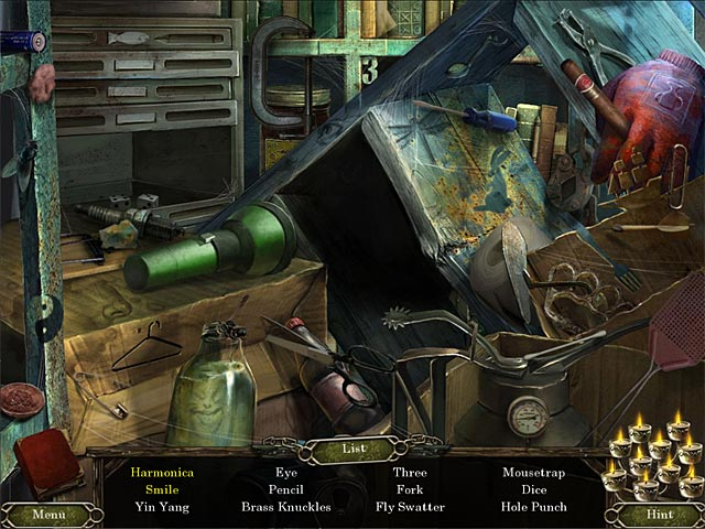 Cursed Memories: The Secret of Agony Creek Collector's Edition Game screenshot 1