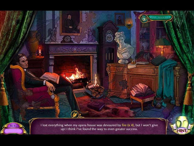Dark Romance: A Performance to Die For Game screenshot 2