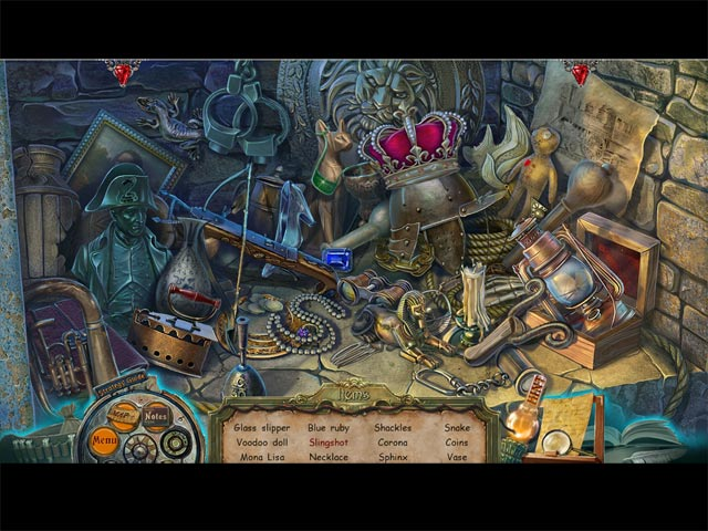 Dark Tales: Edgar Allan Poe's The Mystery of Marie Roget Collector's Edition Game screenshot 2