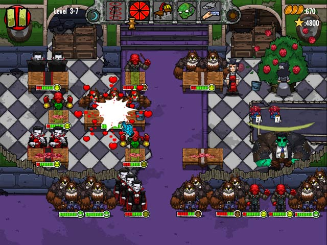 Dead Hungry Diner Game screenshot 2
