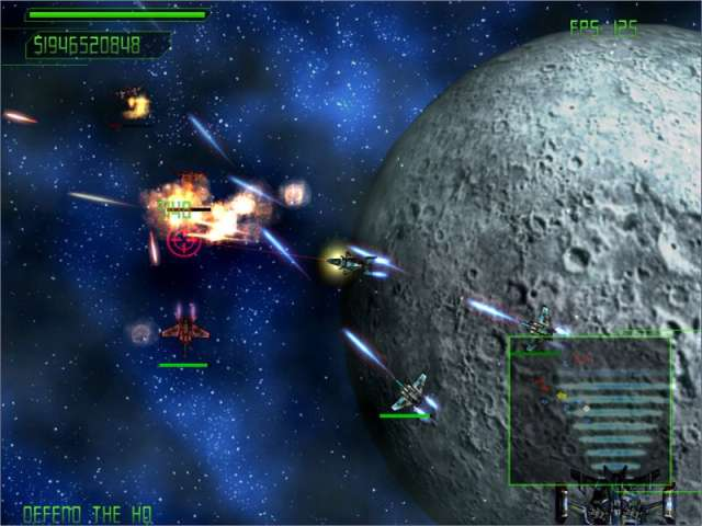 Desperate Space Game screenshot 1