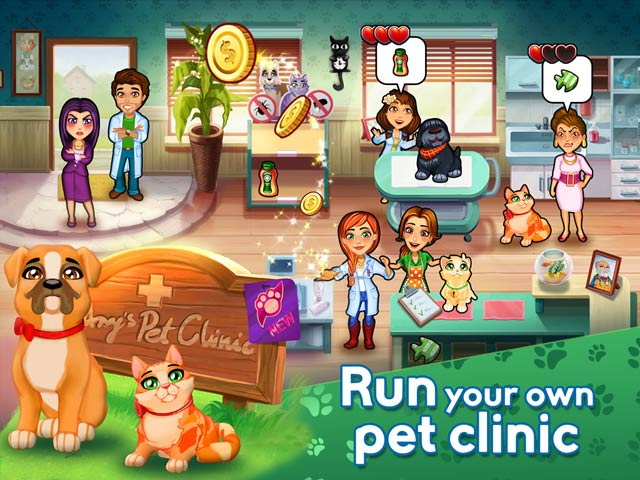 Dr. Cares: Amy's Pet Clinic Collector's Edition Game screenshot 2