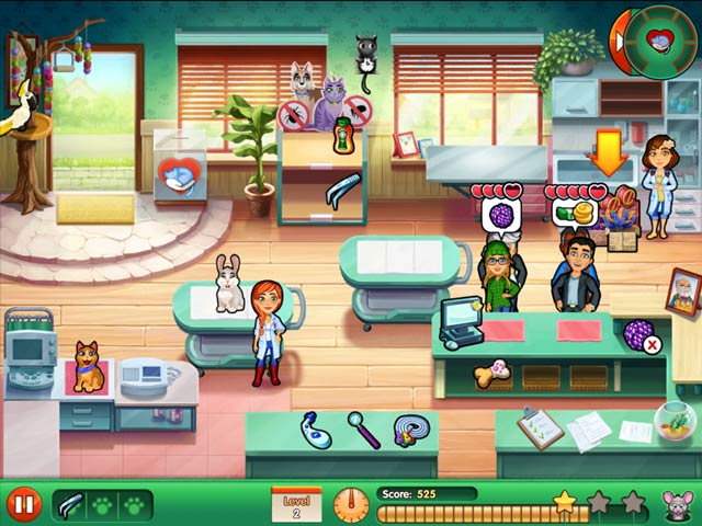 Dr. Cares: Amy's Pet Clinic Collector's Edition Game screenshot 3