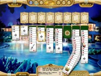 Dream Vacation Solitaire Game screenshot 1