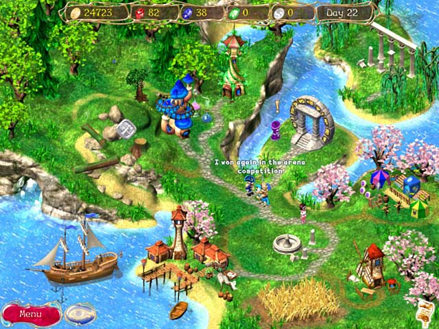 Dreamsdwell Stories 2: Undiscovered Islands Game screenshot 2