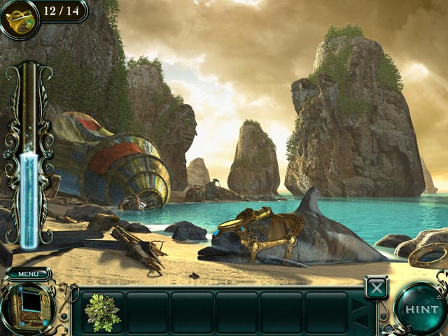 Empress of the Deep 2: Song of the Blue Whale Collector's Edition Game screenshot 1