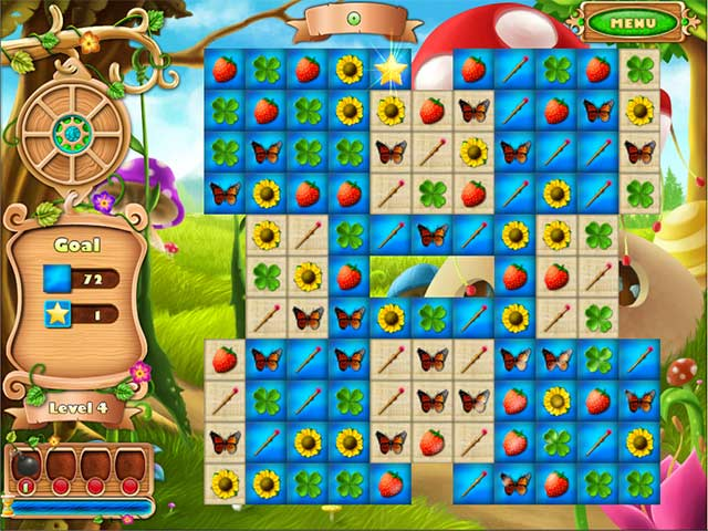 Fairyland Match Game screenshot 1