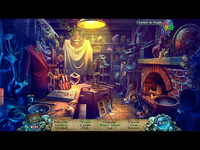 Fear for Sale: City of the Past Game screenshot 3