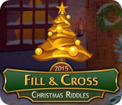 Free Fill And Cross Christmas Riddles Game