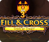 Free Fill and Cross: Trick or Treat! 3 Game