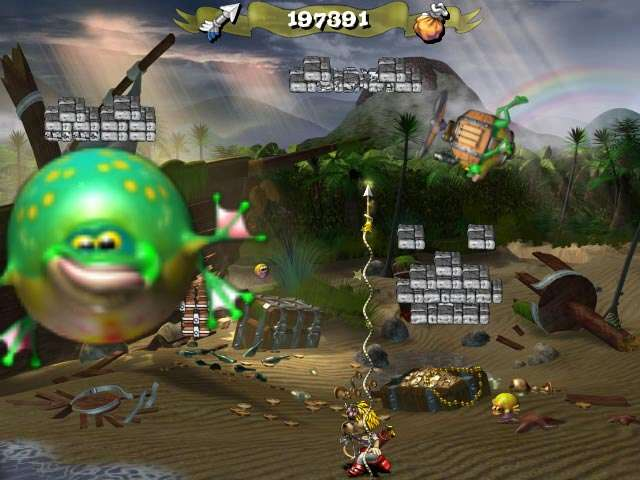 Froggy Castle 2 Game screenshot 2