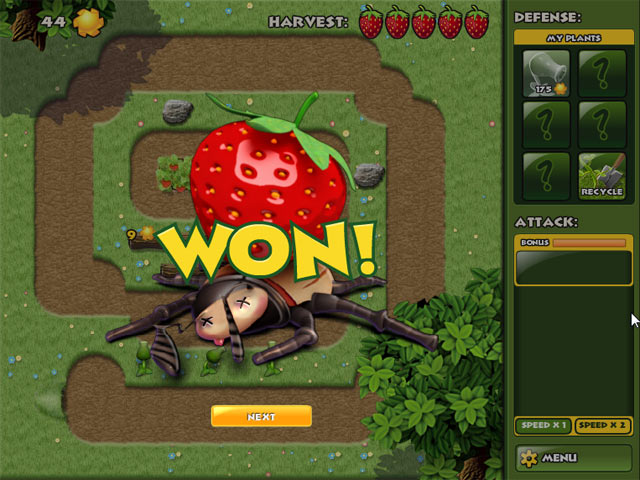 Garden Panic Game screenshot 3