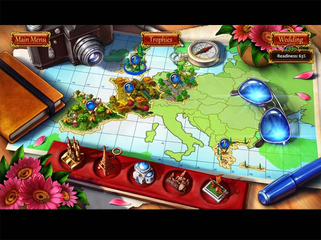 Gardens Inc. 3: Bridal Pursuit Collector's Edition Game screenshot 2