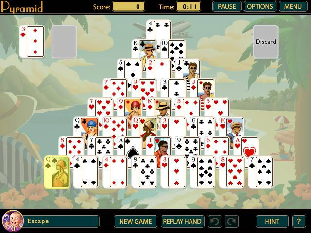 Great Escapes Solitaire Game screenshot 4