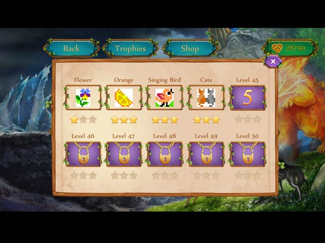 Griddlers: Tale of Mysterious Creatures Game screenshot 3