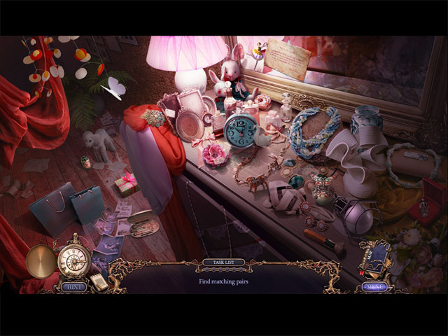 Grim Tales: Color of Fright Collector's Edition Game screenshot 1
