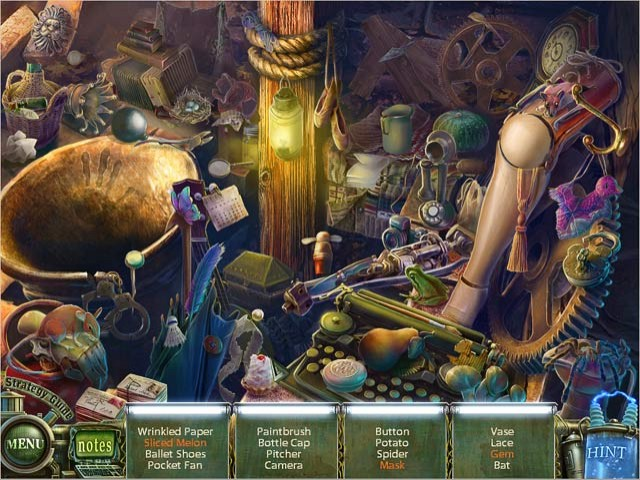 Haunted Halls: Fears from Childhood Collector's Edition Game screenshot 1