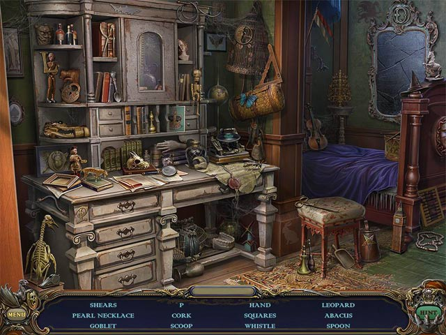Haunted Manor: Queen of Death Collector's Edition Game screenshot 1