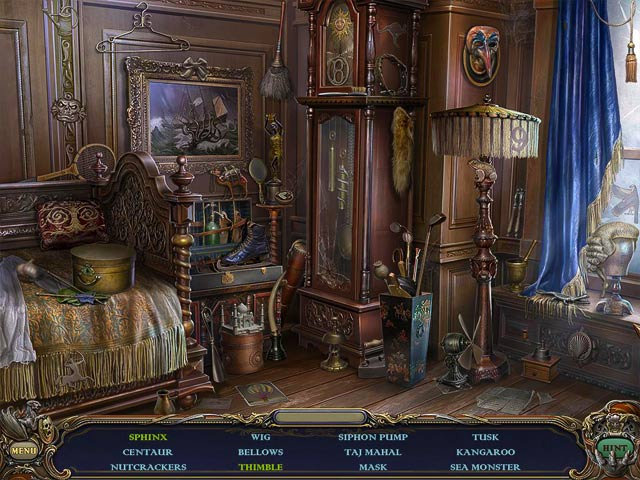 Haunted Manor: Queen of Death Collector's Edition Game screenshot 2