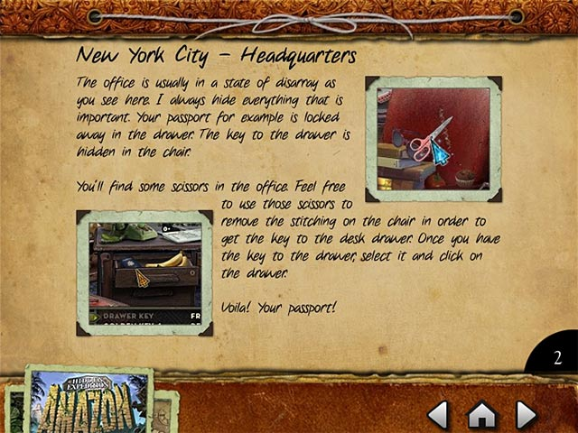 Hidden Expedition: Amazon Strategy Guide Game screenshot 1