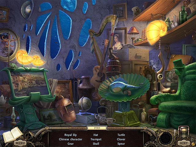Hidden Expedition: The Uncharted Islands Game screenshot 2