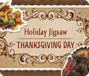 Free Holiday Jigsaw Thanksgiving Day Game